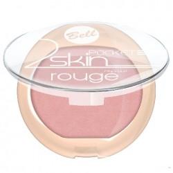 """Bell Róż do policzków """"2 Skin"""" Pocket Rouge nr 053  4.5g"""