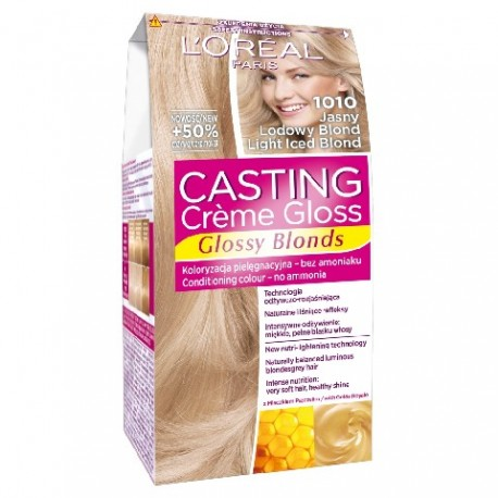 Casting Creme Gloss Krem koloryzujący nr 1010 Jasny Lodowy Blond  1op.