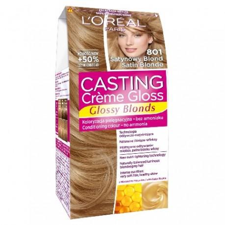 Casting Creme Gloss Krem koloryzujący nr 801 Satynowy Blond  1op.