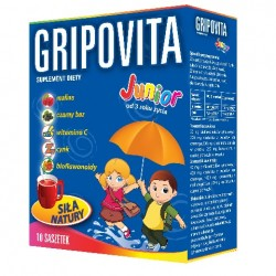 Gripovita Junior herbatka 10saszetek