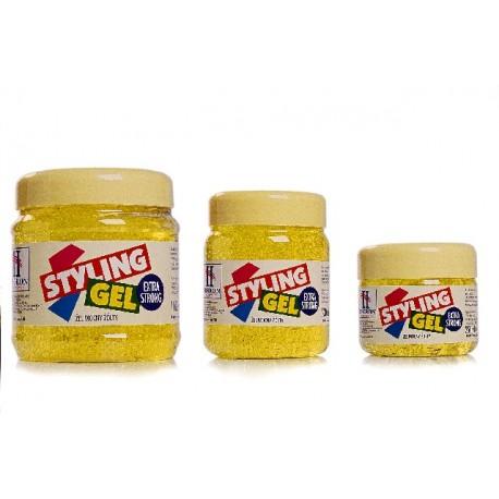 Hegron Styling Żel do modelowania włosów 250ml extra strong żółty