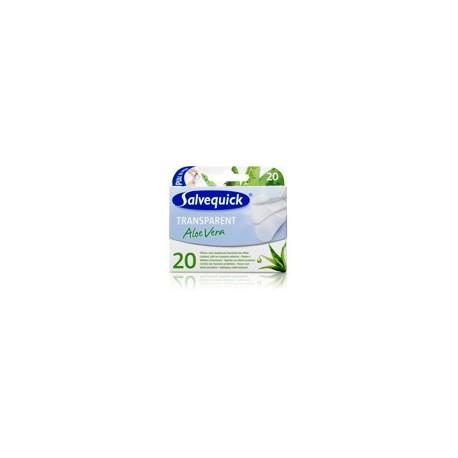 Salvequick Plastry Aloe Vera Transparentne 1 op.-20szt