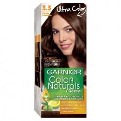 Garnier Color Naturals Krem koloryzujący nr 3.3 Ciemna Czekolada 1op