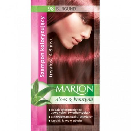 Marion Szampon koloryzujący 4-8 myć nr 98 burgund