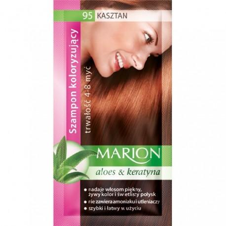 Marion Szampon koloryzujący 4-8 myć nr 95 kasztan