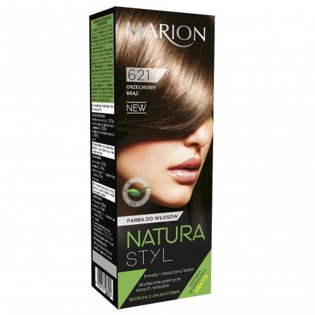 Marion Farba do włosów Natura Styl nr 621 orzechowy brąz