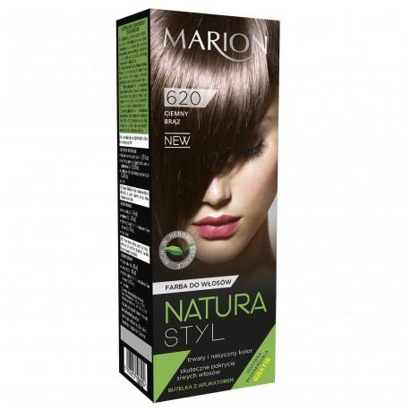 Marion Farba do włosów Natura Styl nr 620 ciemny brąz