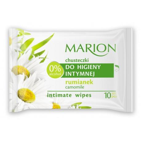 Marion Chusteczki do higieny intymnej z Rumiankiem  1op-10szt