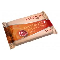 Marion Chusteczki odświeżające Fruits o zapachu owocowym 1op-15szt