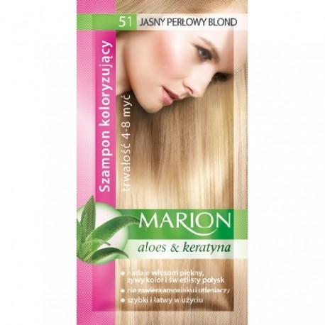 Marion Szampon koloryzujący 4-8 myć nr 51 jasny perłowy blond