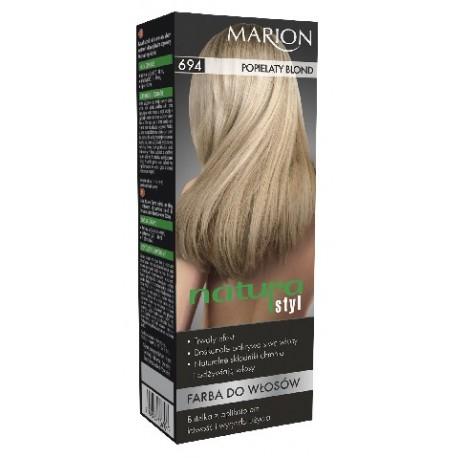 Marion Farba do włosów Natura Styl nr 694 popielaty blond