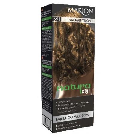 Marion Farba do włosów Natura Styl nr 691 naturalny blond