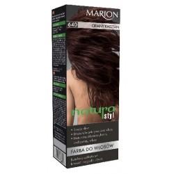 Marion Farba do włosów Natura Styl nr 640 ciemny kasztan