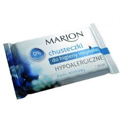 Marion Chusteczki do higieny intymnej Hypoalergiczne 1op-10szt