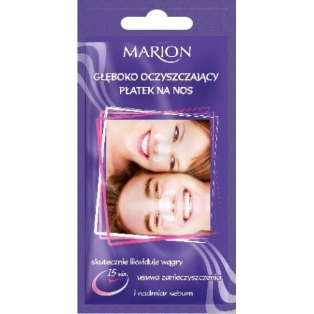Marion Głęboko oczyszczające Płatki na nos 1szt