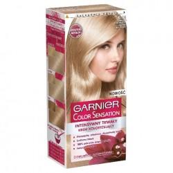 Garnier Color Sensation Krem koloryzujący 9.13 Cristal Blond- Krystaliczny beżowy jasny blond
