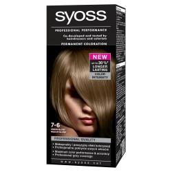 Schwarzkopf Syoss Farba do włosów Średni Blond nr 7-6  1op.