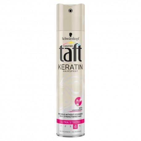 Schwarzkopf Taft Keratin Complete Lakier do włosów ultra mocny 250ml