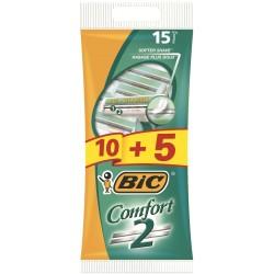 Bic Maszynka do golenia Comfort 2 Pouch 10+5szt