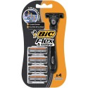 Bic Maszynka do golenia BIC Flex Easy Blister 4