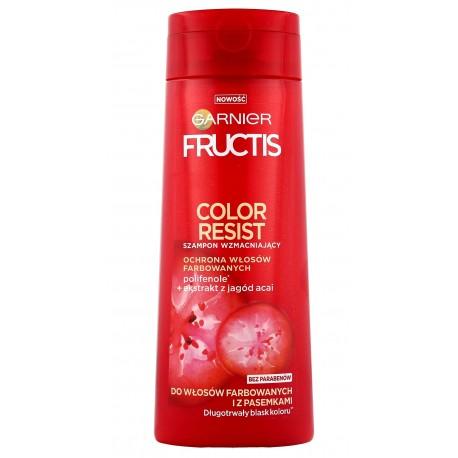 Fructis Color Resist Szampon do włosów farbowanych i z pasemkami  250ml
