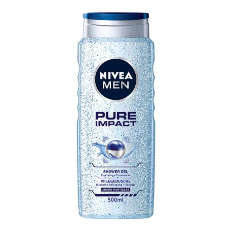 Nivea Men Żel pod prysznic Pure Impact  500ml