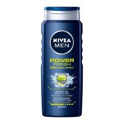 Nivea Men Żel pod prysznic Power Fresh 500ml