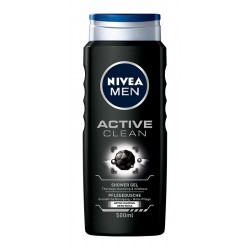 Nivea Men Żel pod prysznic Active Clean  500ml