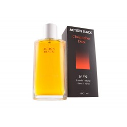 Christopher Dark Men Action Black Woda toaletowa  100ml