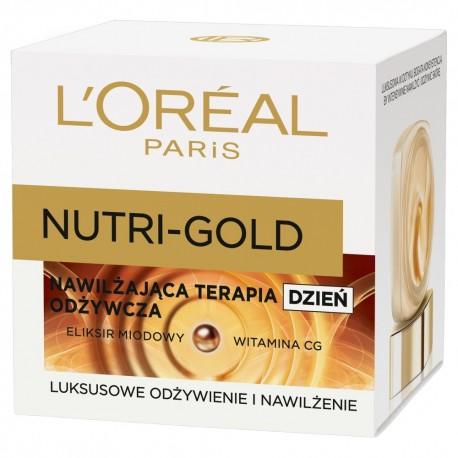 Loreal Dermo Nutri Gold Nawilżająca terapia odżywcza na Dzień 50ml