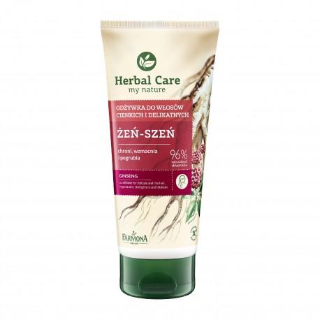 Farmona Herbal Care Odżywka do włosów w tubie Żeń-szeń do włosów cienkich i delikatnych  200ml