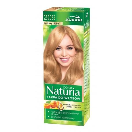 Joanna Naturia Color Farba do włosów nr 209-beżowy blond  150g