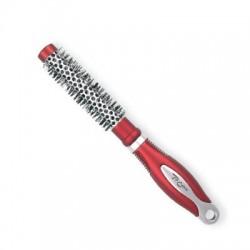 Top Choice Akcesoria do włosów Szczotka do włosów Exclusive rozm XS okrągła silver/burgund  62001-01