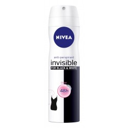Nivea Dezodorant  INVISIBLE CLEAR spray damski  150ml
