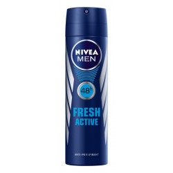 Nivea Dezodorant FRESH ACTIVE spray męski  150ml