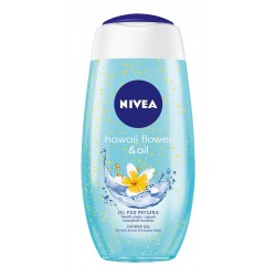 Nivea Shower Gel Żel pod prysznic Hawaiian Flower & Oil 250ml