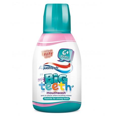 Aquafresh My Big Teeth Płyn do płukania dla dzieci 6+ Fruity 300ml