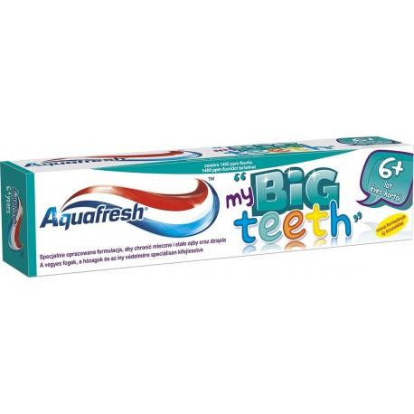 Aquafresh My Big Teeth Pasta do zębów dla dzieci 6+  50ml