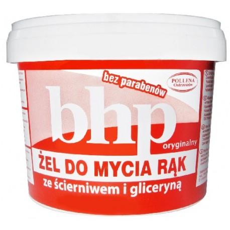 BHP Żel do mycia rąk ze ścierniwem i gliceryną 500g