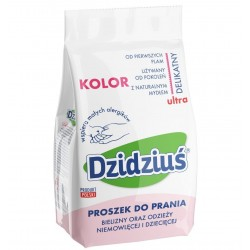 Dzidziuś Proszek do prania bielizny, odzieży niemowlęcej Kolor 1,5kg