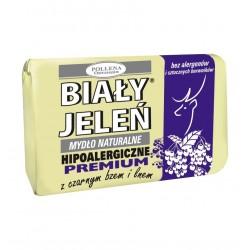 Biały Jeleń Mydło hipoalergiczne premium z czarnym bzem