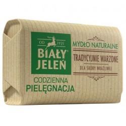 Biały Jeleń Codzienna Pielęgnacja Mydło naturalne tradycyjnie warzone w kostce obwoluta 100g