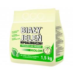 Biały Jeleń Proszek do prania hipoalergiczny Kolor 1,5kg