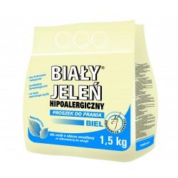 Biały Jeleń Proszek do prania hipoalergiczny Biel 1,5kg