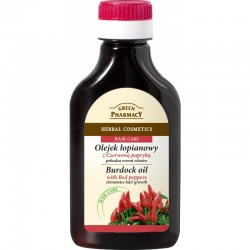 Green Pharmacy Olejek łopianowy z czerwoną papryką na wzrost włosów