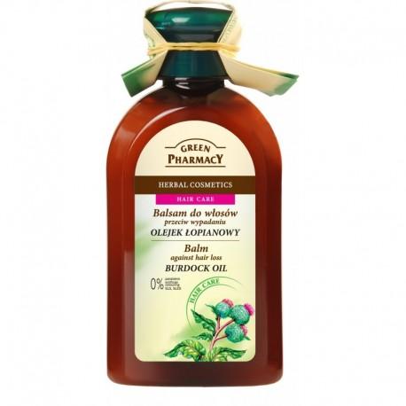 Green Pharmacy Balsam do włosów wypadających Olejek łopianowy