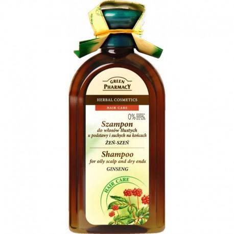 Green Pharmacy Szampon do włosów mieszanych Żeń-Szeń