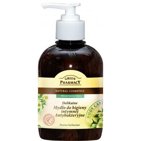 Green Pharmacy Mydło do higieny intymnej antybakteryjne Drzewo herbaciane