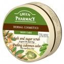 Green Pharmacy Peeling cukrowo solny Olej arganaowy, Figi  300ml