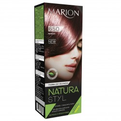 Marion Farba do włosów Natura Styl nr 650 mahoń